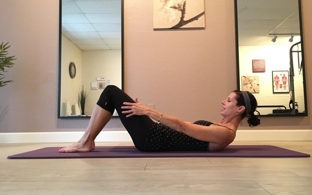 Pilates 101: Chest Lift for better upper body posture