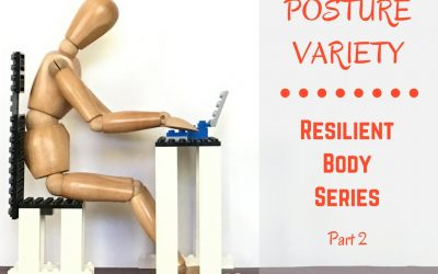 Posture Variety for Your Workday